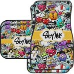 Graffiti Car Floor Mats (Personalized)