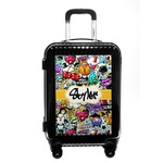 Graffiti Carry On Hard Shell Suitcase (Personalized)