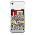 Graffiti Cell Phone Credit Card Holder (Personalized)