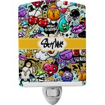 Graffiti Ceramic Night Light (Personalized)