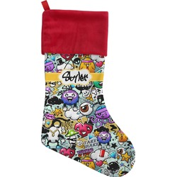 Graffiti Christmas Stocking (Personalized)