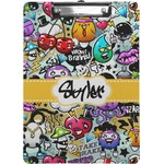 Graffiti Clipboard (Personalized)