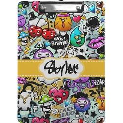 Graffiti Clipboard (Personalized)