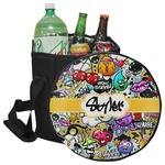 Graffiti Collapsible Cooler & Seat (Personalized)