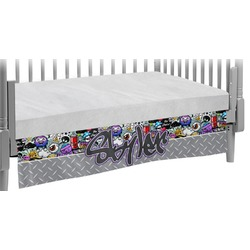 Graffiti Crib Skirt (Personalized)
