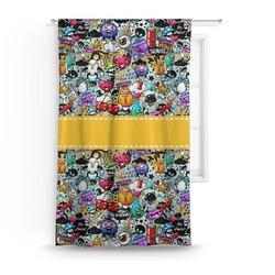 Graffiti Curtain (Personalized)
