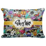 "Graffiti Decorative Baby Pillowcase - 16""x12"" (Personalized)"