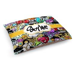 Graffiti Dog Pillow Bed (Personalized)