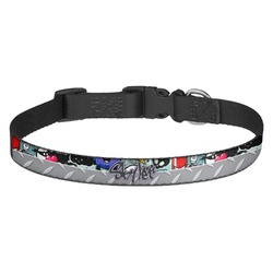 Graffiti Dog Collar - Multiple Sizes (Personalized)
