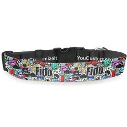 Graffiti Deluxe Dog Collar (Personalized)