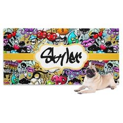 Graffiti Dog Towel (Personalized)