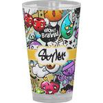 Graffiti Drinking / Pint Glass (Personalized)