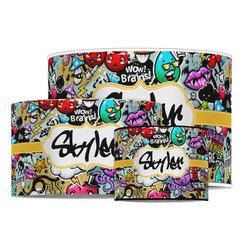 Graffiti Drum Lamp Shade (Personalized)