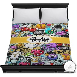 Graffiti Duvet Cover (Personalized)