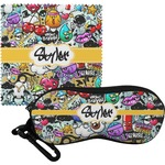 Graffiti Eyeglass Case & Cloth (Personalized)