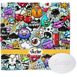 Graffiti Wash Cloth (Personalized)