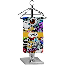Graffiti Finger Tip Towel - Full Print (Personalized)