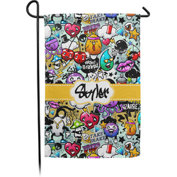 Graffiti Garden Flag - Single or Double Sided (Personalized)