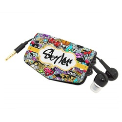 Graffiti Genuine Leather Cord Wrap (Personalized)