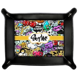 Graffiti Genuine Leather Valet Tray (Personalized)