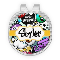 Graffiti Golf Ball Marker - Hat Clip