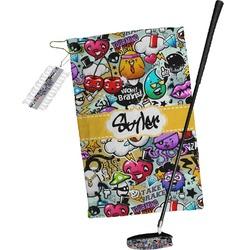Graffiti Golf Towel Gift Set (Personalized)