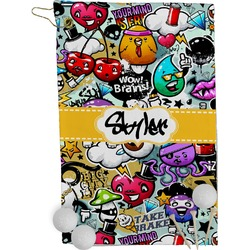 Graffiti Golf Towel - Full Print (Personalized)