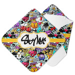 Graffiti Hooded Baby Towel (Personalized)