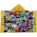 Graffiti Kids Hooded Towel (Personalized)
