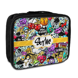 Graffiti Insulated Lunch Bag (Personalized)