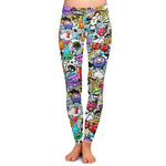 Graffiti Ladies Leggings (Personalized)