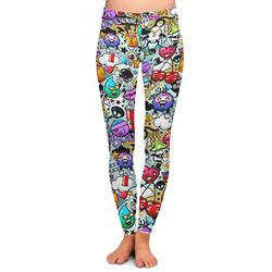 Graffiti Ladies Leggings (Personalized)