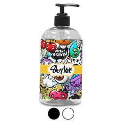 Graffiti Plastic Soap / Lotion Dispenser (Personalized)