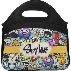Graffiti Lunch Tote (Personalized)