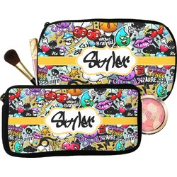Graffiti Makeup / Cosmetic Bag (Personalized)