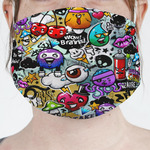 Graffiti Face Mask Cover (Personalized)