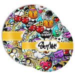 Graffiti Melamine Plate (Personalized)