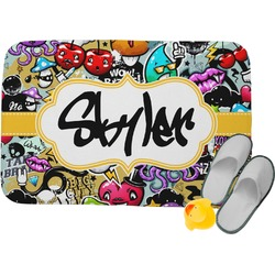 Graffiti Memory Foam Bath Mat (Personalized)