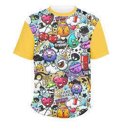 Graffiti Men's Crew T-Shirt (Personalized)