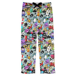 Graffiti Mens Pajama Pants (Personalized)