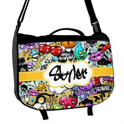 Graffiti Messenger Bag (Personalized)