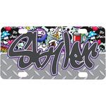 Graffiti Mini / Bicycle License Plate (Personalized)