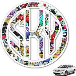 Graffiti Monogram Car Decal (Personalized)