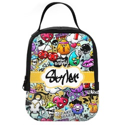 Graffiti Neoprene Lunch Tote (Personalized)