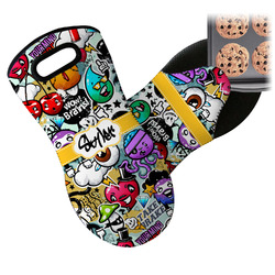 Graffiti Neoprene Oven Mitt (Personalized)