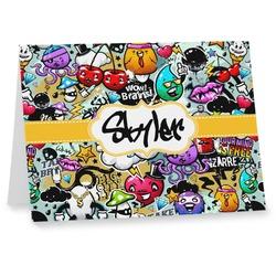 Graffiti Notecards (Personalized)