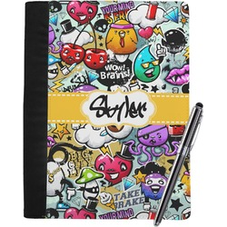 Graffiti Notebook Padfolio (Personalized)