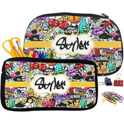 Graffiti Pencil / School Supplies Bag (Personalized)