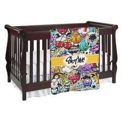 Graffiti Baby Blanket (Personalized)