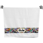 Graffiti Bath Towel (Personalized)